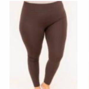 🔥SALE🔥~New~Chic soul brown leggings size 2X/3X.